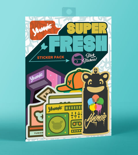 Yumie brand super fresh sticker pack