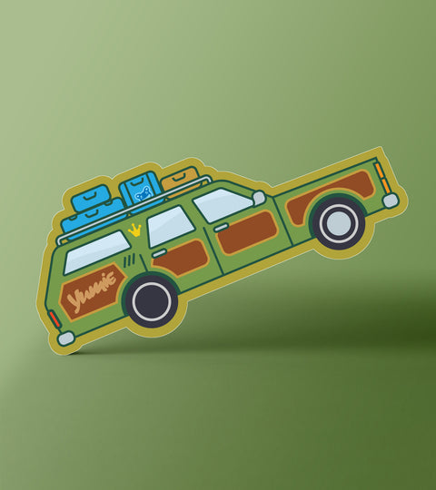 The Truckster Sticker