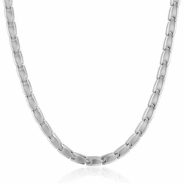 Mesinya Pure 99.9999% Germanium Therapy Healthy Titanium Necklace
