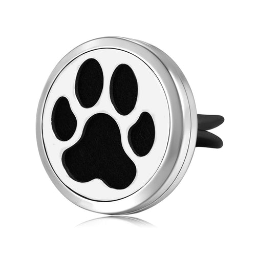 Mesinya Dog Paw Air Freshener Diffuser Car Vent clip Aromatherapy Essential Oil