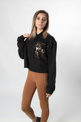 BE-YOU-TIFUL Crop-top Hoodie
