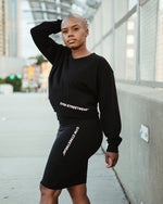 Khali Long Sleeve Crop - GYM STREETWEAR