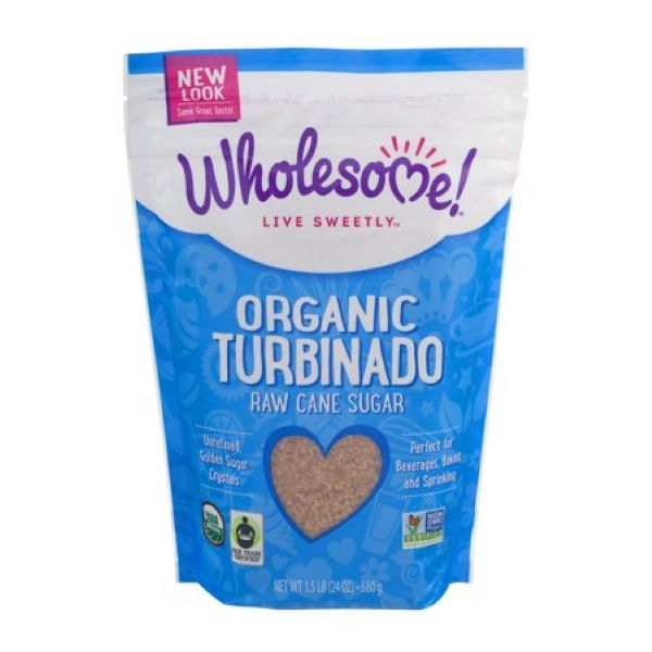 Organic Turbinado Raw Cane Sugar (680g)