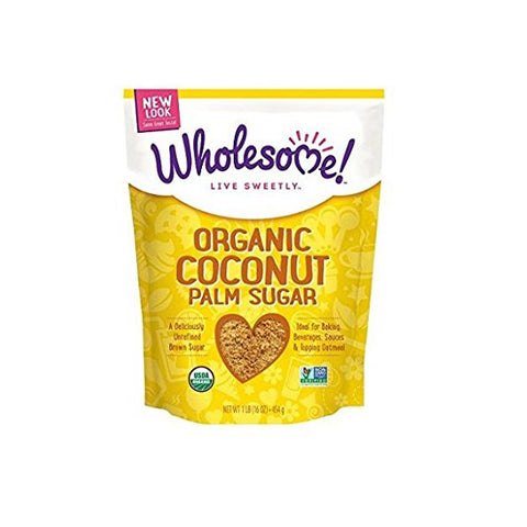 Organic Coconut Palm Sugar (454g)