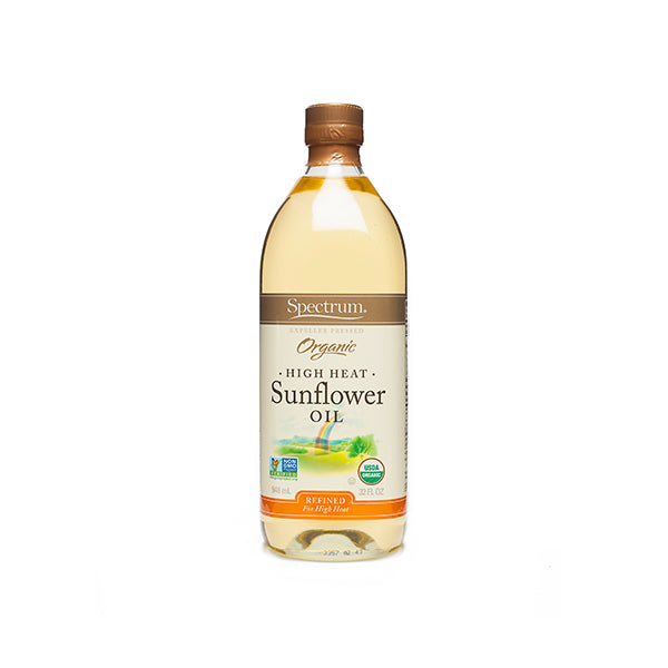 Organic Refined Sunflower Oil (946ml)