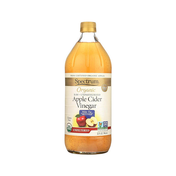 Organic Unfiltered Apple Cider Vinegar (946ml)