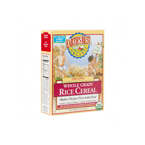 Organic Whole Grain Rice Cereal (227g)