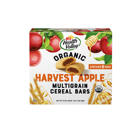 Organic Apple Cobbler Cereal Bars (224g)