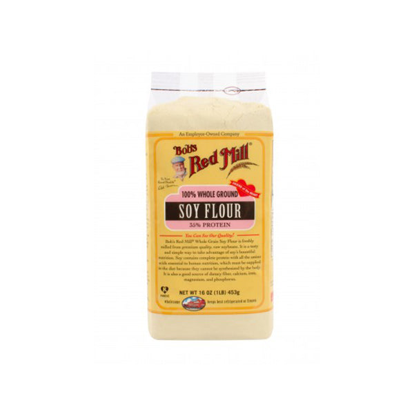 Soy Flour Stone Ground (453g)