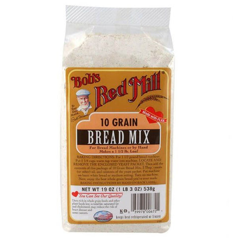 10 Grain Bread Mix  ( 538g )