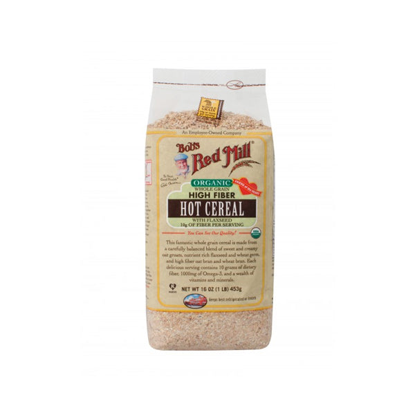 Organic High Fiber Hot Cereal (453g)