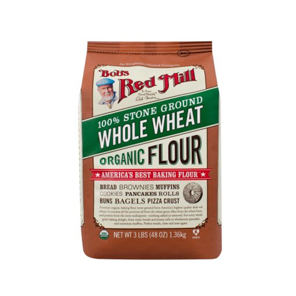 Organic Whole Wheat Flour (1360g)