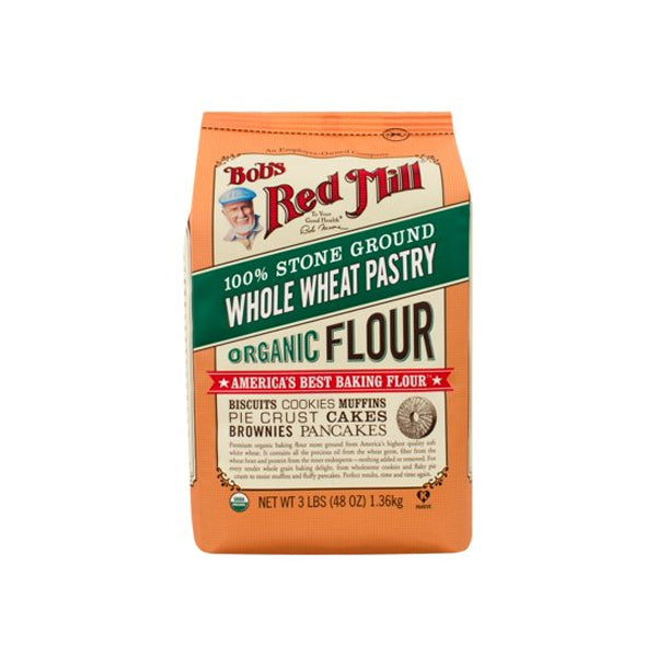 Organic Whole Wheat Pastry Flour (1.36Kg)