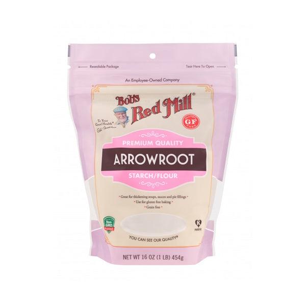 Gluten Free Arrowroot Starch / Flour (454g)