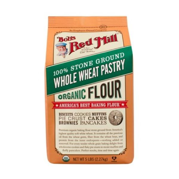 Organic Whole Wheat Pastry Flour (2.27 kg)