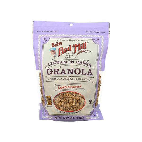 Cinnamon Raisin Granola (340g)