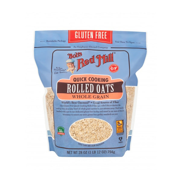 Gluten Free Quick Cooking Rolled Oats (794g)