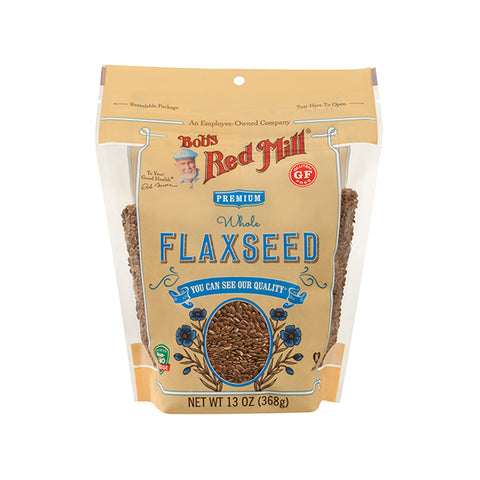 Gluten Free Whole Brown Flaxseeds (368g)
