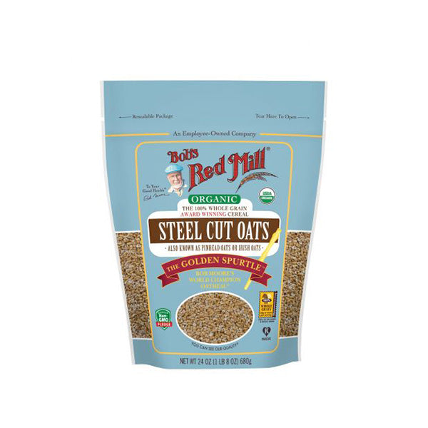 Organic Steel Cut Oats (680g)