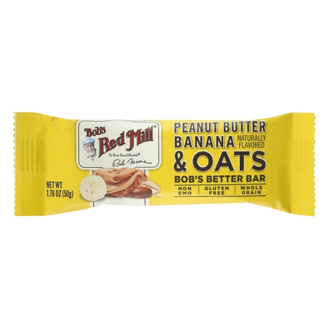 Peanut Butter Banana & Oat Bar (50g)
