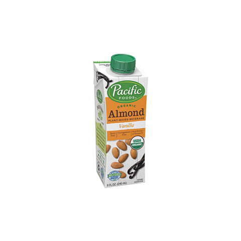 Organic Almond Vanilla Low Fat (240ml)