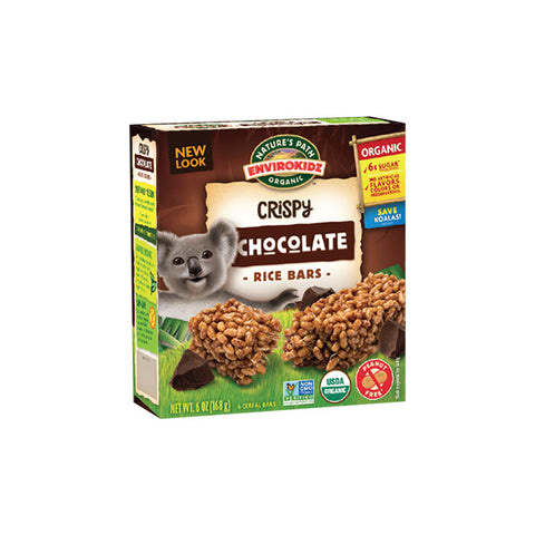 Organic Koala Chocolate Crispy Rice Bars (168g)