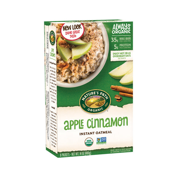 Apple Cinnamon Hot Oatmeal (400g)