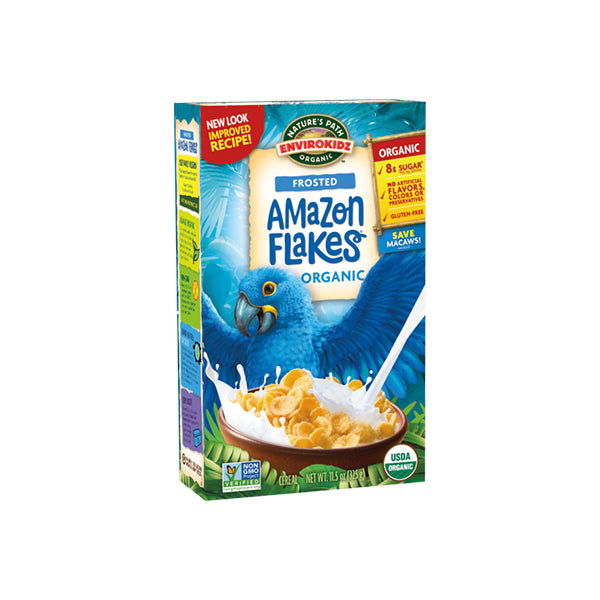 Organic Amazon Frosted  Corn Flakes (400g)