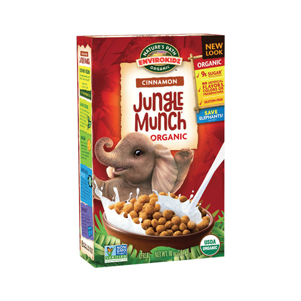 Organic Gluten Free Cinnamon Jungle Munch (284g)