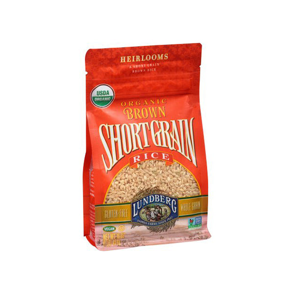Short Grain Brown Rice (454g)