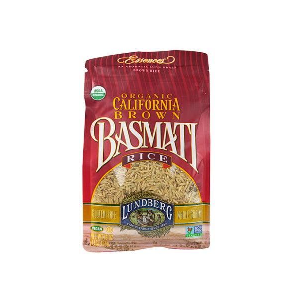 Organic Brown Basmati Rice (454g)
