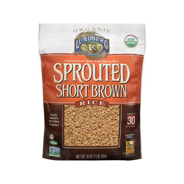Organic Sprouted Short Brown Rice (454g)