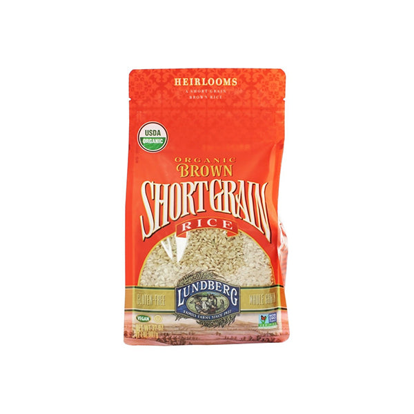 Organic Short Grain Brown Rice (907g)