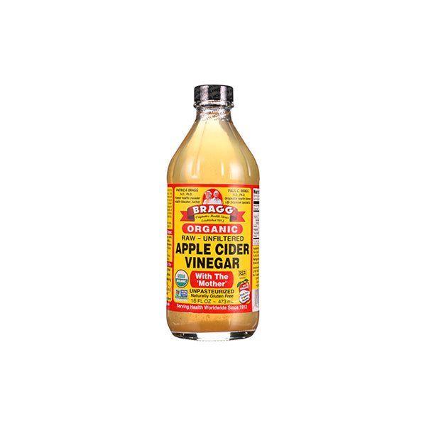 Organic Raw Apple Cider Vinegar Unfiltered (473ml)