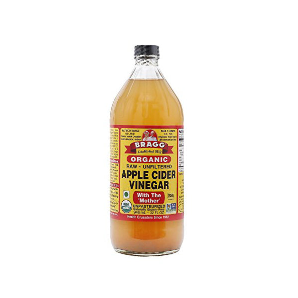 Organic Raw Apple Cider Vinegar Unfiltered (946ml)