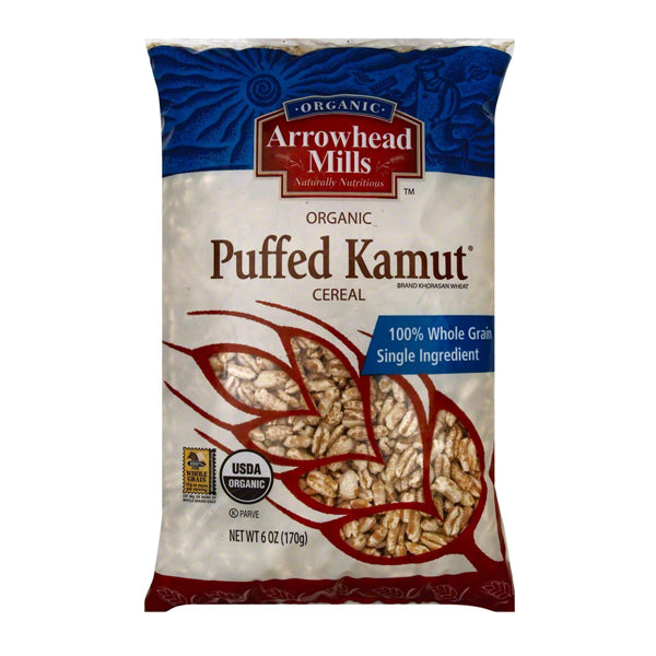 Organic Puffed Kamut Cereal (170g)