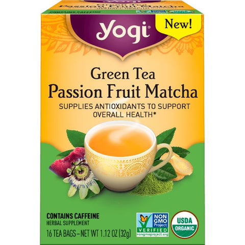 Organic Passion Fruit Matcha Tea  ( 32g )