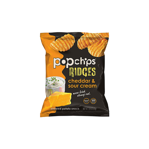 Ridges Cheddar & Sour Cream Chips (23g)