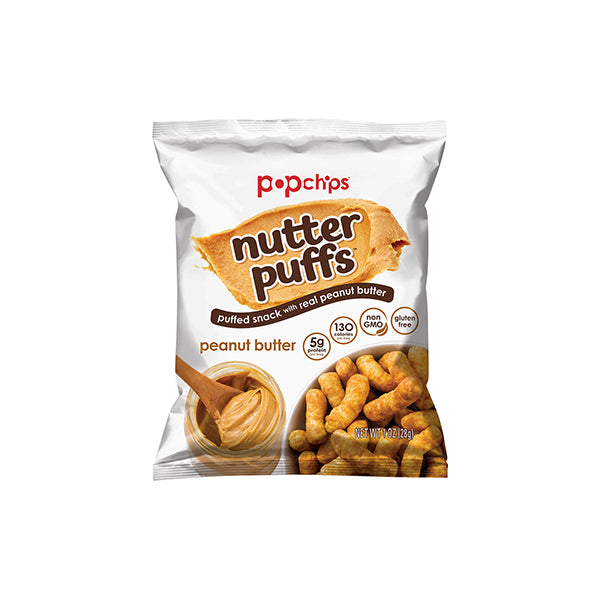POP Chips Nutter Puffs Peanut Butter 28g