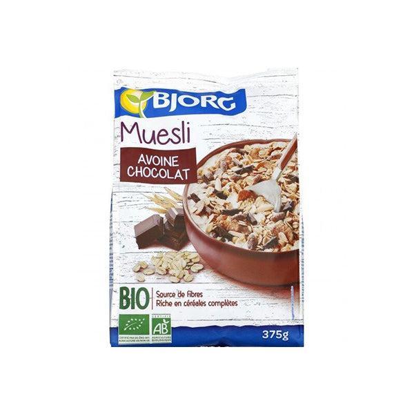 Organic Muesli With Chocolate (375g)
