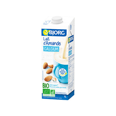 Organic Almond Milk with Calcium (1L)