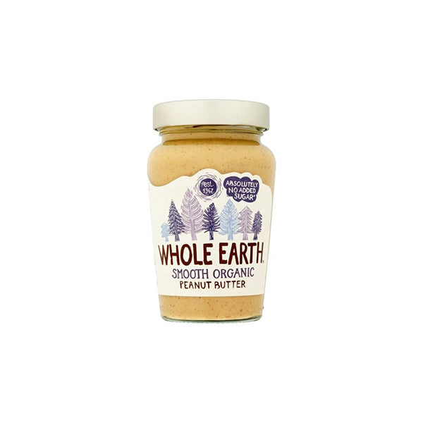 Organic Smooth Peanut Butter (340g)