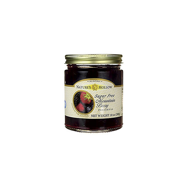Sugar Free Mountain Berry Jam (280g)