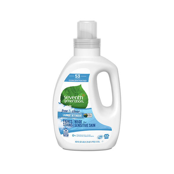Natural Laundry 4X Detergent Free & Clear (1.18L)