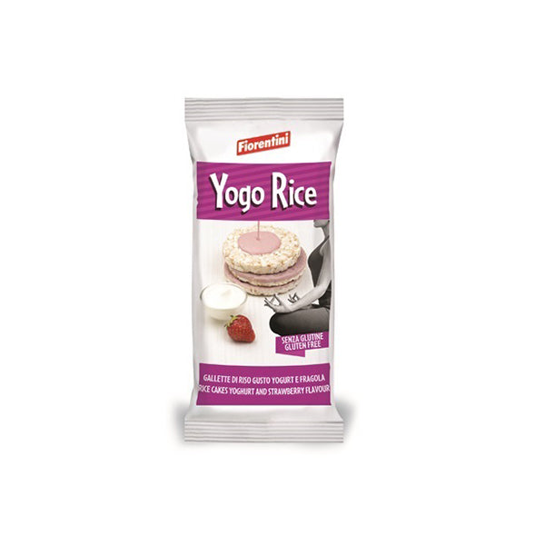Rice Cake with Yoghurt and Strawberry (100g)