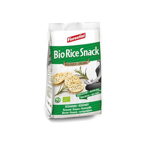 Organic Rice Snack Rosemary (40g)