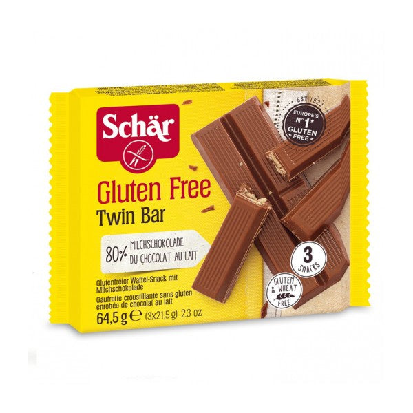 Gluten Free Twin Bar 3 Pack (64.5g)