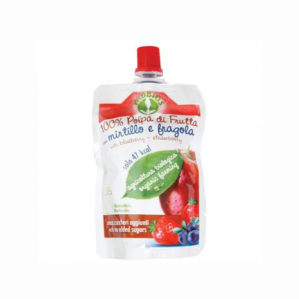 Apple, Blueberry & Strawberry Puree (100g)