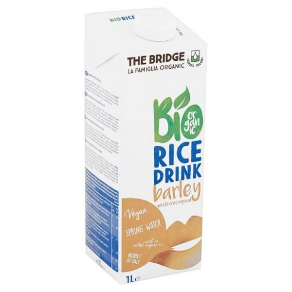 Organic Rice Drink With Barley  ( 1L )
