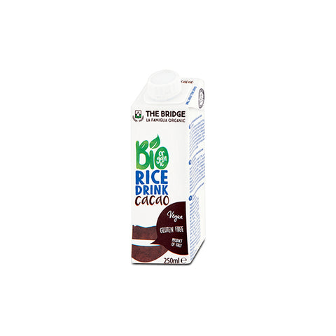 Organic Gluten Free Rice Drink with Cacao (250ml)